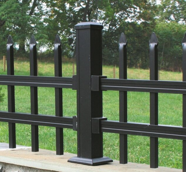 Key-Link Fencing & Railing - 4000 Series Aluminum Fencing