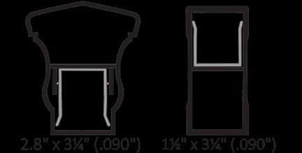 Key-Link Fencing & Railing - Lancaster Aluminum Railing Series