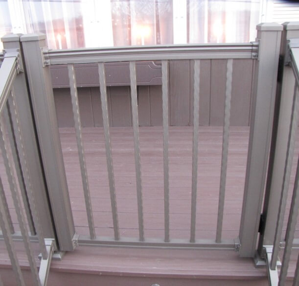 Key-Link Fencing & Railing - Aluminum Gates