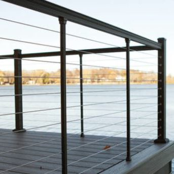 Key-Link Fencing & Railing Products - Key-Link Fencing & Railing Cable Railing Systems