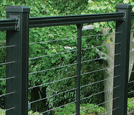 Key-Link Fencing & Railing - Horizontal Cable Railing System