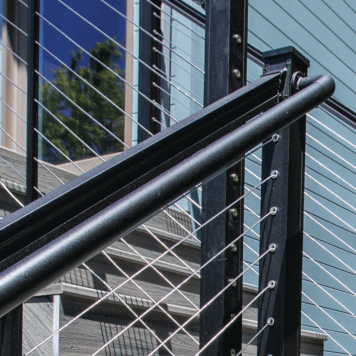 Key-Link Fencing & Railing - Aluminum Secondary Handrail