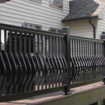 Key-Link Fencing & Railing Products - Key-Link Fencing & Railing Aluminum Railing Products