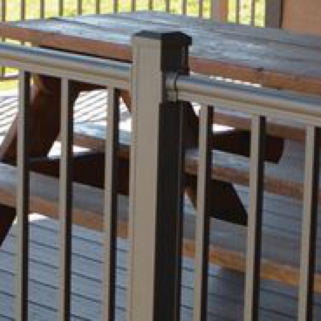 Outlook Aluminum Railing Series - Key-Link Fencing & Railing