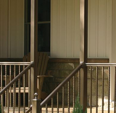 Key-Link Fencing & Railing - Aluminum Porch Posts