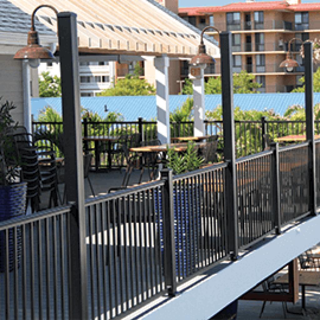 Key Link Fencing Amp Railing Quality Aluminum Fencing
