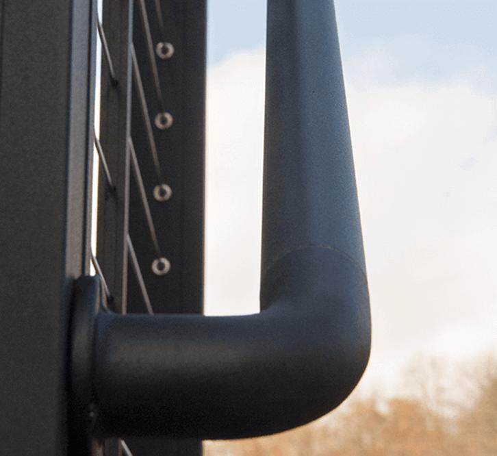 Key-Link Fencing & Railing - Aluminum Secondary Handrail